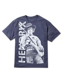 Jimi Hendrix Vertical Style Screen Tee