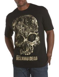 Walking Dead: Walker Skull Screen Tee