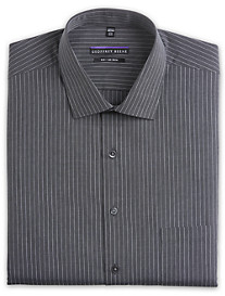 Geoffrey Beene® Non-Iron Houndstooth Stripe Dress Shirt