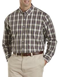 Oak Hill® Medium Multi Plaid Sport Shirt