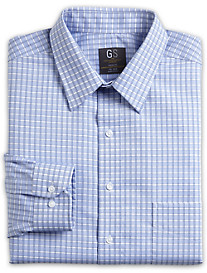 Gold Series Herringbone Check Dress Shirt