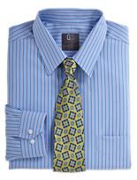 Gold Series™ Continuous Comfort™ Stripe Dress Shirt