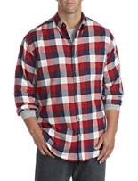 Harbor Bay® Large Buffalo Check Flannel Shirt