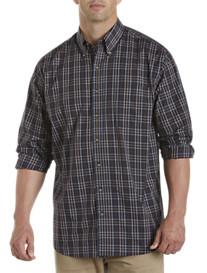 Harbor Bay® Easy-Care Plaid Sport Shirt