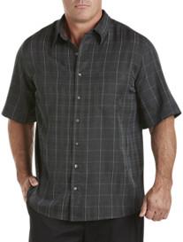 Synrgy® Plaid Microfiber Sport Shirt