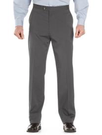 Sansabelt® Mélange Flat-Front Pants