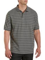 Harbor Bay® Skinny Stripe Polo