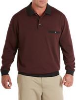 Harbor Bay® Basketweave Banded Bottom Shirt