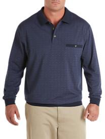 Harbor Bay® Tonal Square Banded Bottom Shirt