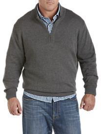 Synrgy® 1/4-Zip Mockneck Sweater
