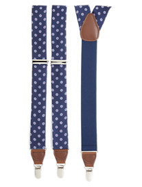 DXL® Circle-Patterned Suspenders