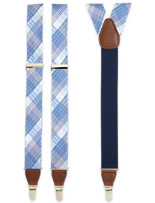 DXL® Plaid Suspenders