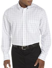 Nautica® Wrinkle-Resistant Windowpane Sport Shirt