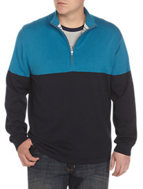 Nautica Jeans Co.® 1/4-Zip Colorblocked Sweater