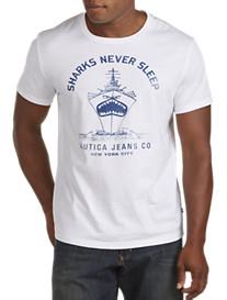 Nautica Jeans Co.® Sharks Never Sleep Screen Tee