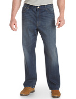 True Nation® Washed Blue Relaxed-Fit Jeans
