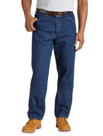 Riggs Workwear® By Wrangler® Relaxed-Fit Five-Pocket Jeans - Available in antiqe indigo