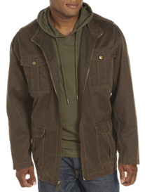 True Nation® Oil Cloth Military Jacket