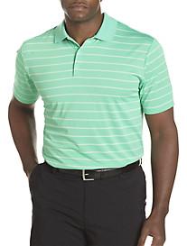 adidas® Golf climalite® Bi-Color Stripe Jersey Polo