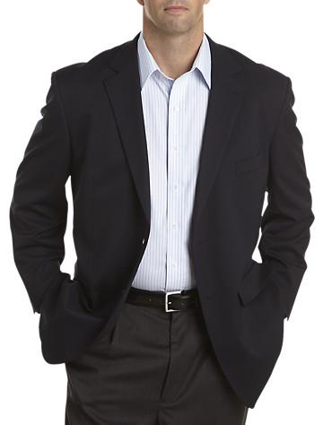 Jean-Paul Germain Microfiber Suede-Touch Blazer – Executive Cut ...