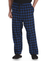 Harbor Bay® Check Flannel Lounge Pants
