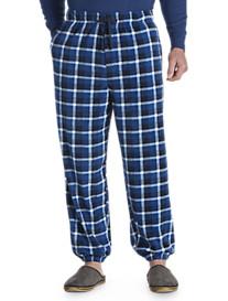 Harbor Bay® Plaid Microfleece Pants