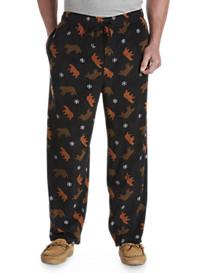 Harbor Bay® Bear Print Microfleece Pants