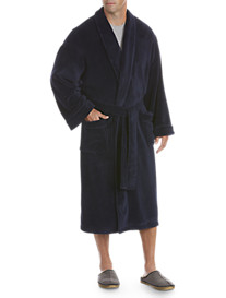 Harbor Bay® Shawl-Collar Fleece Robe