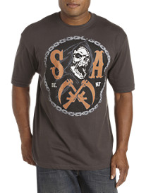 Sons of Anarchy: Circle Logo Screen Tee