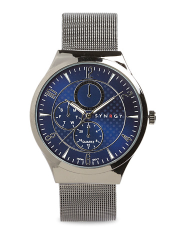 Synrgy™ Gunmetal Mesh Watch