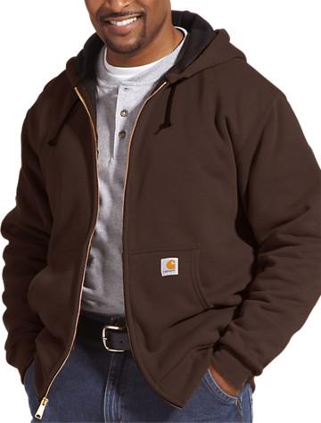 Carhartt® Thermal-Lined Hooded Sweatshirt - $85.00