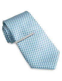 Traveler Technology® Square Neat Tie with Tie Bar