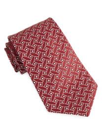 Geoffrey Beene® Dot Medallion Silk Tie