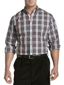 Oak Hill® Cool & Dry Large Check Sport Shirt