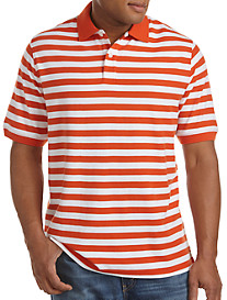 Harbor Bay® Mini Rugby Stripe Piqué Polo