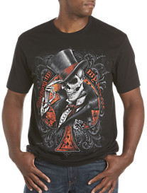 Top Hat Spade Screen Tee