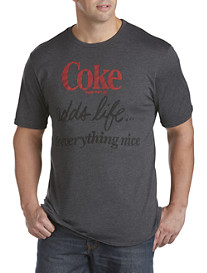 True Vintage Coke Adds Life Screen Tee