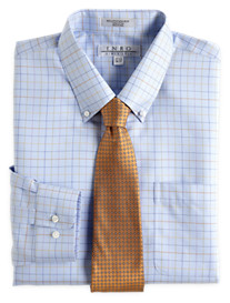 Enro® Non-Iron Twill Check Dress Shirt