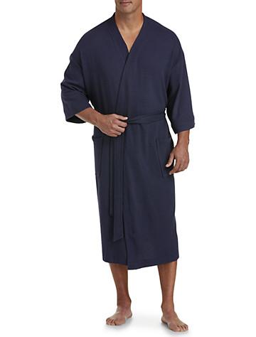 Harbor Bay® Waffle-Knit Kimono Robe
