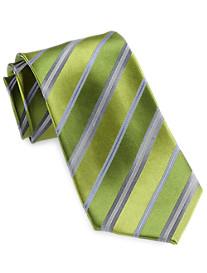 Geoffrey Beene® Wide Stripe Silk Tie