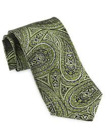 Geoffrey Beene® Obsidian Paisley Silk Tie