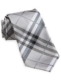 Geoffrey Beene® Pierre Plaid Silk Tie