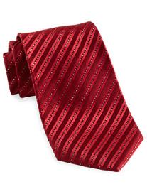 Geoffrey Beene® Holiday Stripe Silk Tie