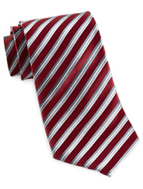 Geoffrey Beene® Degrade Stripe Silk Tie