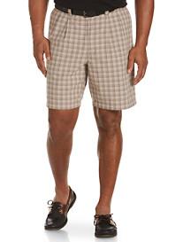 Oak Hill® Waist-Relaxer® Plaid Shorts