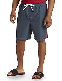 True Nation® Racing Colorblock Swim Shorts