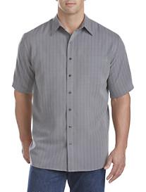 Harbor Bay® Multi Check Microfiber Sport Shirt