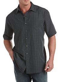 Harbor Bay® Multi-Grid Microfiber Sport Shirt