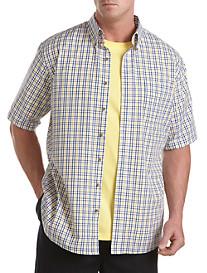Harbor Bay® Easy-Care Multi Check Sport Shirt