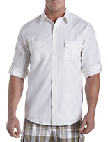 True Nation® Washed Solid Sport Shirt